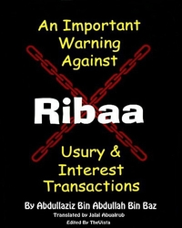 Warning Against Riba [ Usury ] Transactions